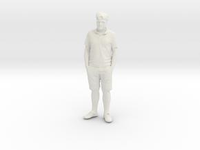 Printle C Homme 116 - 1/64 - wob in White Natural Versatile Plastic