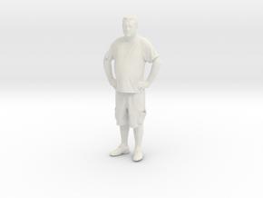 Printle C Homme 126 - 1/64 - wob in White Natural Versatile Plastic