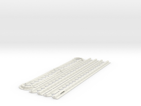 OviMob03 - Sidewalks border in White Natural Versatile Plastic