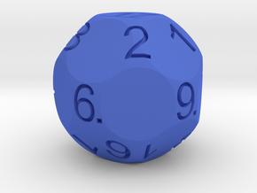 D17 for Impact! Miniatures in Blue Processed Versatile Plastic