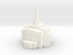Gilbert, Arizona LDS Temple in White Processed Versatile Plastic