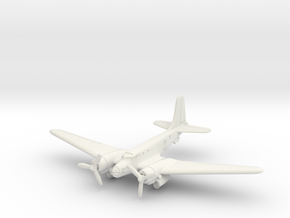 Douglas B-23 Dragon (Landing Gear) 1/200 in White Natural Versatile Plastic
