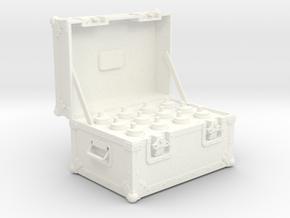 BACK FUTURE 1/6 PLUTONIUM BOX OPEN in White Processed Versatile Plastic