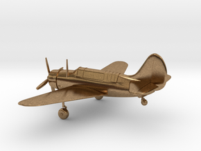Curtiss SB2C Helldiver airplane in Natural Brass: 1:144