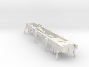 FR J1 - P4 Chassis in White Natural Versatile Plastic
