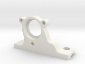 Half-inch Ex Filter Holder VORTRAN in White Natural Versatile Plastic