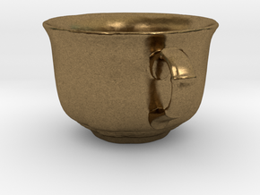 Tea Mug in Natural Bronze: Small