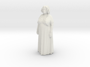 Printle C Femme 003 - 1/56 - wob in White Strong & Flexible