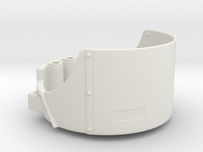 Open Turret for dual DShK machine guns Scale 1:35 in White Natural Versatile Plastic