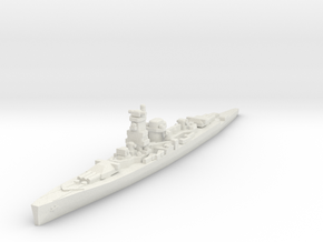 Deutschland class 1/2400 in White Natural Versatile Plastic