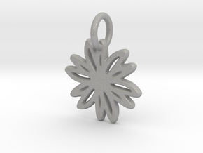 Daisy Pendant/Charm - 24mm, 20mm, 16mm, 12mm in Aluminum: Large