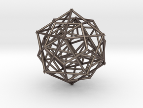 Nested Platonic Solids in Stainless Steel