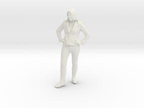 Printle C Femme 013 - 1/64 - wob in White Natural Versatile Plastic