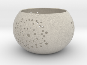 Windlicht / Candle Holder in Natural Sandstone