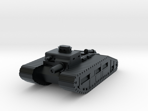 Infantry Support Tank in Black Hi-Def Acrylate
