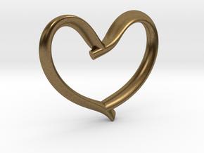 Valentine's Day in Natural Bronze: Medium