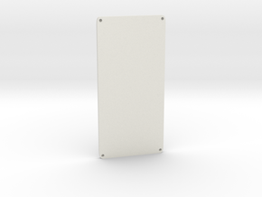 Wide G Door in White Natural Versatile Plastic