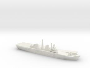 HMS Invincible R05 (Falklands War), 1/1800 in White Natural Versatile Plastic