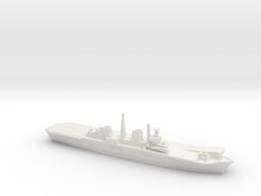 HMS Invincible R05 (Falklands War), 1/3000 in White Natural Versatile Plastic