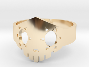 Boop Ring in 14k Gold Plated Brass: 5 / 49