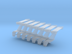 Wing With Motorbox 7 Pack 36 in Smooth Fine Detail Plastic