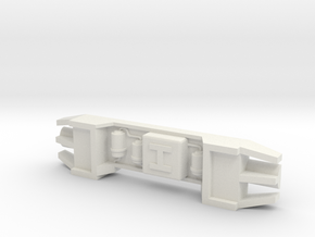 Howitzer Greeblie for Y-Wing in White Natural Versatile Plastic