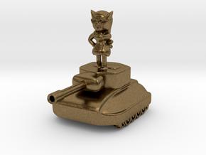 Fiura The Tank Girl Figurine #1 in Natural Bronze