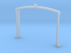 HO WCK Station Breezway Surround in Smooth Fine Detail Plastic