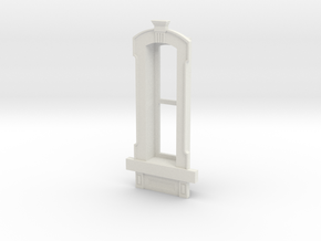 HO WCK Single Narrow Window in White Natural Versatile Plastic