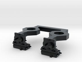 HO N2A Coupler (Dummy) for Commuter MU cars in Black Hi-Def Acrylate