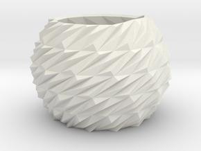 Indoor planter in White Natural Versatile Plastic