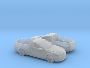 1/160 2X 2015 Holden Ute in Smooth Fine Detail Plastic