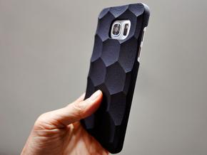 Samsung Galaxy S7 Edge Case_Hexagon in Black Strong & Flexible
