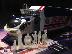 1/64 Sugo Team Characters in Frosted Ultra Detail