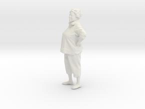 Printle C Femme 027 - 1/64 - wob in White Natural Versatile Plastic