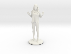 Printle C Femme 028 - 1/35 in White Natural Versatile Plastic