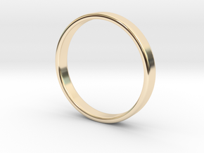 Simple band - size 9 US / 189 mm EU in 14K Yellow Gold: 9 / 59