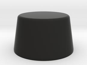 """Lava Cap for 70's """"Century"""" model in Black Natural Versatile Plastic"""
