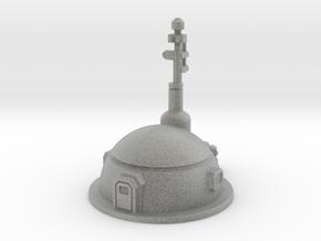 Small Dome Habitat in Metallic Plastic