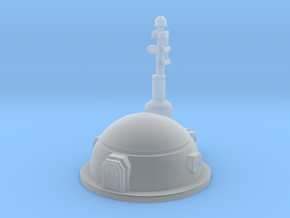 Small Dome Habitat in Smooth Fine Detail Plastic