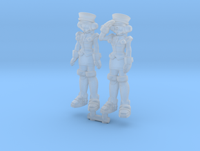 T-Ai 2-Pack (RiD2000) 35mm Minis in Smooth Fine Detail Plastic