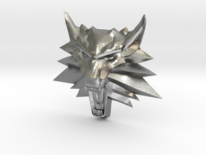 Ornament Witcher2 in Natural Silver