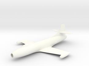Douglas Skystreak 1/ 72 scale in White Strong & Flexible Polished