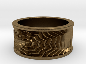 Starburst Ring in Natural Bronze: 13 / 69