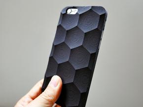 iPhone 6 / 6S Plus Case_Hexagon in Black Strong & Flexible