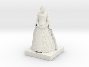 Printle C Femme 037 - 1/35 in White Natural Versatile Plastic