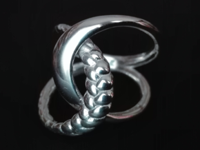 Braid Ring in Polished Silver: 9.25 / 59.625