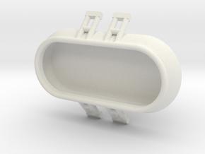 Aufblasspool Ver.2 - 1:220, 1:160, 1:120 oder 1:87 in White Natural Versatile Plastic: 1:120 - TT