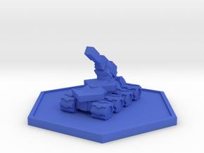 Colour Rim Bastion Drone Artilery in Blue Processed Versatile Plastic
