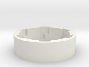 TFA Grip Guide Lock Version B-88mm in White Natural Versatile Plastic